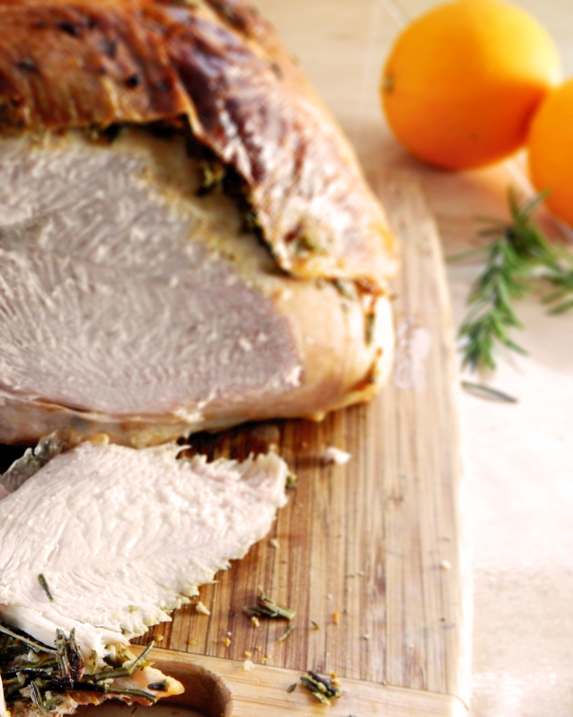 Turkey Breast with Rosemary and Orange