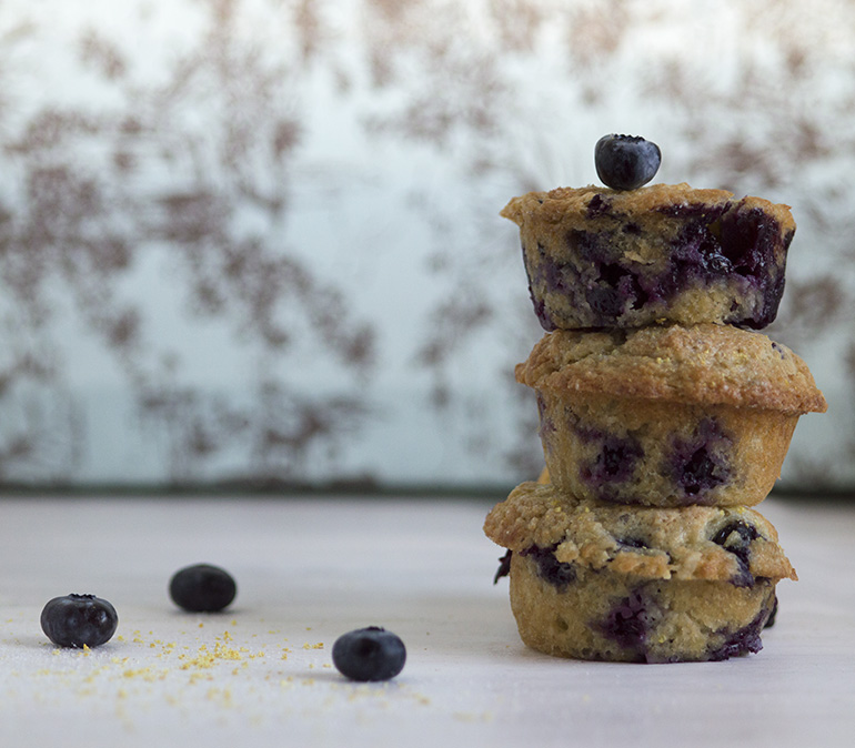 Blueberry Muffins for Two